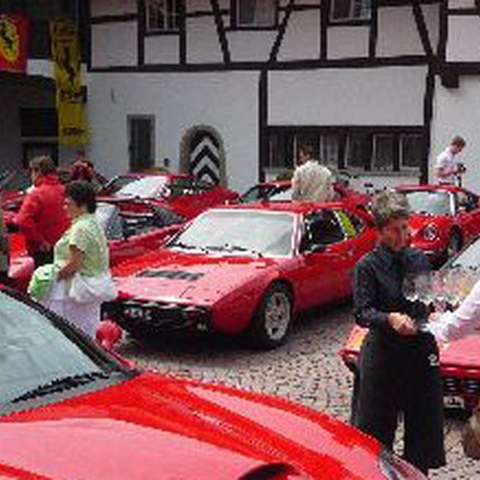Ferrari Historic Club Lunch, 11.7.2009