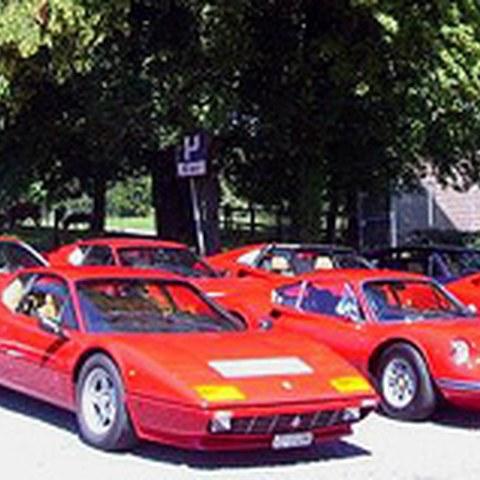 Ferrari Historic Club Lunch, 15.7.2007