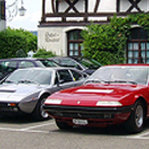 Ferrari Historic Club Lunch, 25.6.2005