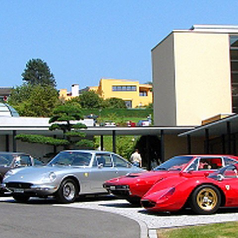 Ferrari Historic Club Lunch, 3.7.2010